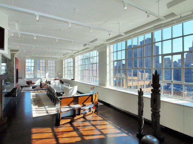 Merveilleux Penthouse_terrace_sky_lofts; Sky_loft_penthouse_living_room.png;  145_Hudson_Street_Tribeca_Manhattan_Apartments_NY ...
